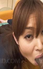 Milf Asian Bondage - Hitomi Kanou Asian sucks shlong and gets vibrator in asshole