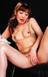 Asian Mom Porn Videos - Mami Asakura Asian rides fake cock and uses vibrator for orgasms