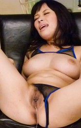 Milf Asian Public Sex - Kyouko Maki Asian gets vibrators inside and over her fish taco