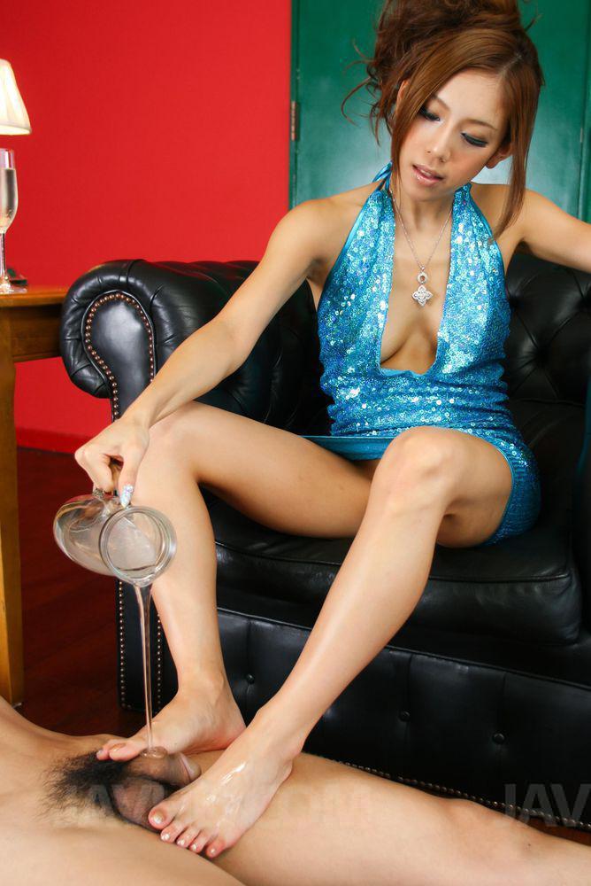 asian feet cum