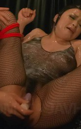 Milf Asian Facial - Yuu Haruka is fucked in asshole and in wet crack with vibrator