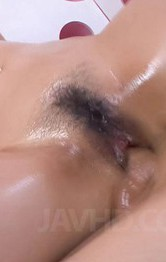 Milf Asian Masturbation - Yuu Haruka Asian has fine assets fondled with lotion before fuck