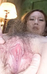 Milf Japanese Public Sex - Kazumi Nanase Asian has hairy pussy under tongue and vibrators