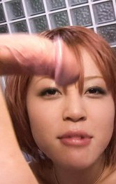 Asian Milf Pov Porn - SARA Asian with nasty hooters licks boner and rides it on and on
