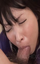 Hot Japanese Mom Porn Videos - Chihiro Kitagawa Asian with hot behind sucks hard boner so well
