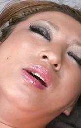 Milf Japanese Squirting - Juri Sawaki Asian has juicy peach fingered and under vibrators