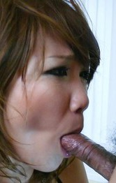 Milf Japanese Mini Skirt - Akiho Nishimura Asian has vibrator on cunt while riding boner