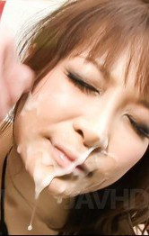 Asian Milf Creampie Porn - Misa Kikouden Asian gets much cum on face after vibrators on cunt