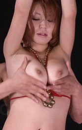 Japanese Mom Lesbian - SARA Asian doll is tied and aroused with vibrators on hot curves