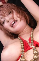 Top Milf Japanese Models - SARA Asian doll is tied and aroused with vibrators on hot curves