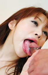 Asian Mom Maid - Miina Yoshihara Asian has bee stings touched and sucks boners