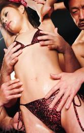 Asian Mom Porn Videos - Miina Yoshihara Asian is fucked while she sucks cock in orgy