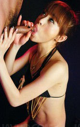 Milf Japanese Pov - Miina Yoshihara Asian sucks and licks boner till cum is in palms