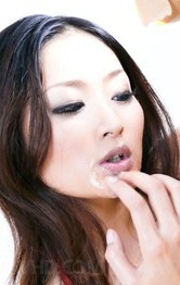 Milf Asian Lesbians - Risa Murakami Asian strokes dongs to get cum on her hot titties