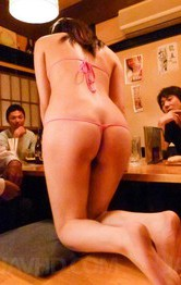 Amateur Milf Japanese - Minami Kitagawa Asian in pink bath suit gets dildos and vibrators