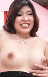 Asian Mature Mom - Ai Okada Asian has hairy love box deeply and strongly screwed