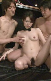 Top Asian Mom Porn Models - Rino Asuka Asian has pussy under vibrators and fucked by boners