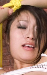 Milf Japanese Models - Nana Kunimi Asian is tied and gets hard dong in mouth and nooky