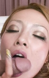 Milf Japanese Tit Fuck - Rei Miyakawa Asian with hot butt sucks dick and gets it doggy