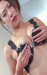 Asian Milf Office Porn - Yayoi Yanagida Asian has orgasm from vibrator while fondling tits