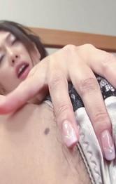 Japanese Mom  Public - Yayoi Yanagida Asian has orgasm from vibrator while fondling tits