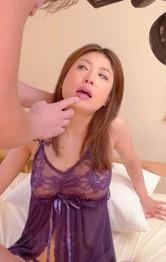 Asian Milf Pov Porn - Mafuyu Hanasaki Asian has shaved peach doggy nailed and fingered