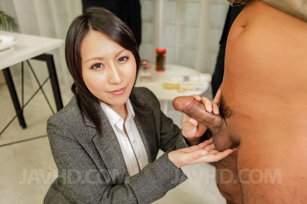 Akari asagiri amazing milf sex with two makes more at 69avscom 3