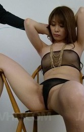 Milf Asian Models - Rika Aiba takes boner in mouth and vibrators on nipples and twat