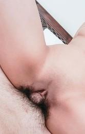 Milf Japanese Nurses - Hikari licks cock like ice cream after is nailed in shaved twat