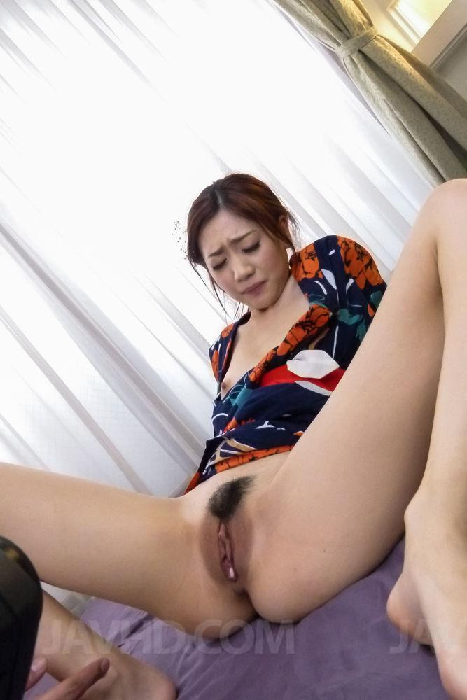 Akina hara amazes with serious blowjob scenes 2